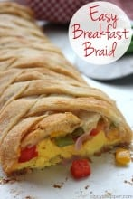 Easy Breakfast Braid