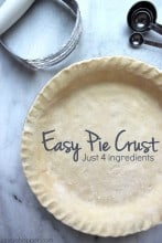 Easy Pie Crust 1