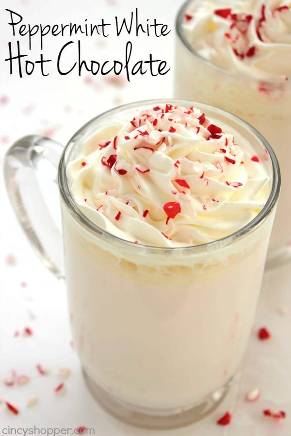 Peppermint White Hot Chocolate 1