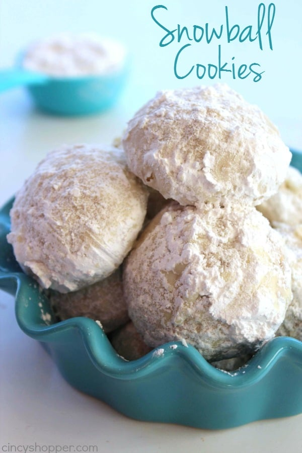Snowball Cookies 1