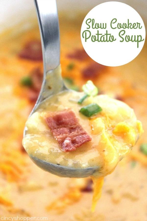 Slow Cooker Potato Soup 1