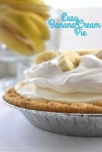 Easy Banana Cream Pie 1