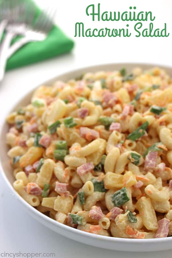 Hawaiian Macaroni Salad 1