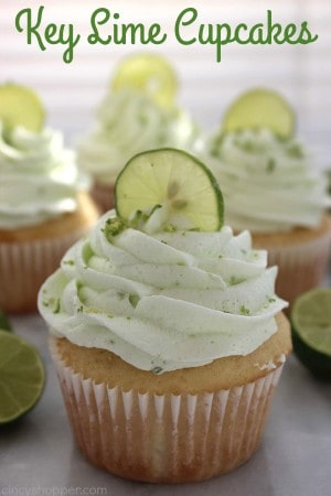 Key Lime Cupcakes 1