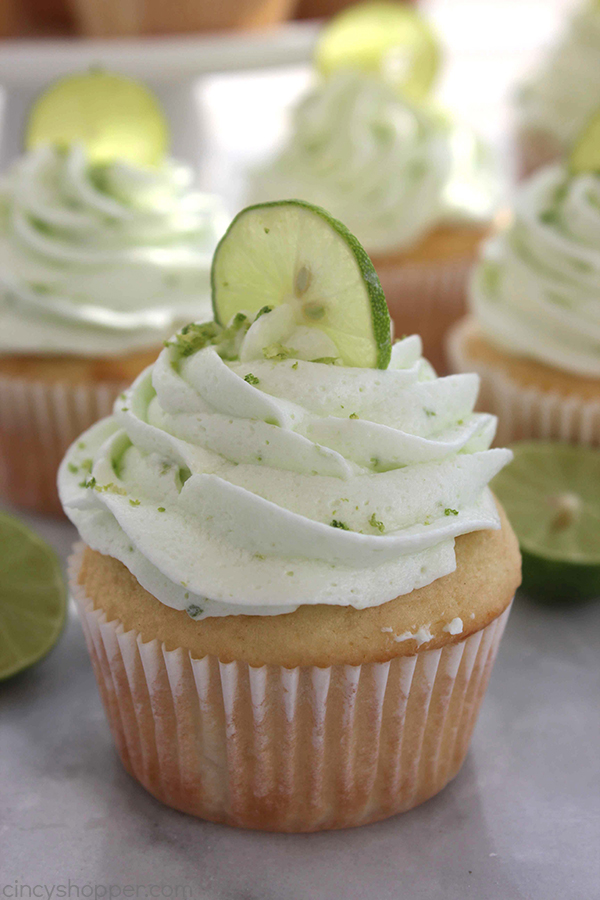 Key Lime Cupcakes with Key Lime Butter Cream Icing - tart, tangy and ...