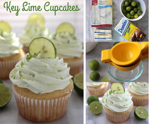 how to make lime cupcake
