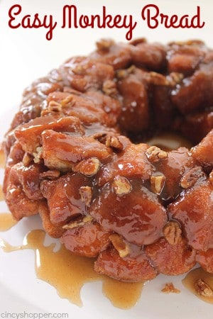 Easy Monkey Bread 1