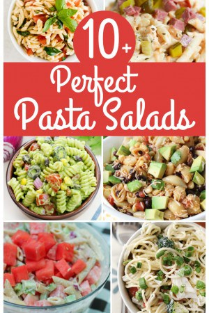 10+ Perfect Pasta Salads