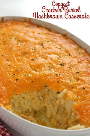 Copycat Cracker Barrel Hashbrown Casserole 1