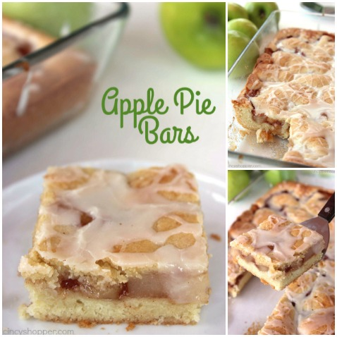 Apple Pie Bars - Perfect for apple pie fans. Great apple dessert for feeding a crowd!