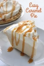Easy Caramel Pie