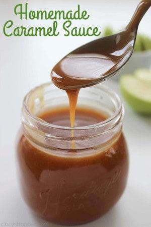 Homemade Caramel Sauce 1