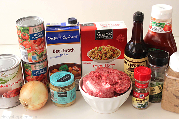 Slow Cooker Beef and Tomato Macaroni Soup 6