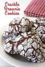 Crackle Brownie Cookies