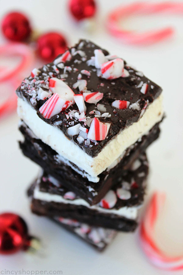 Peppermint Crunch Brownies Recipe — Dishmaps