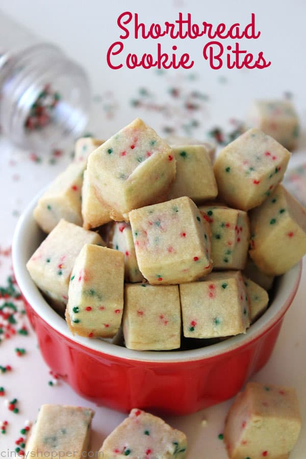 Christmas Cookie Trays.Shortbread Cookie Bites