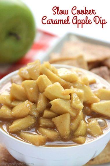 Slow Cooker Caramel Apple Dip