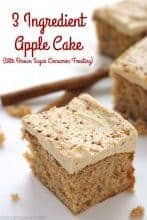 3 Ingredient Apple Cake