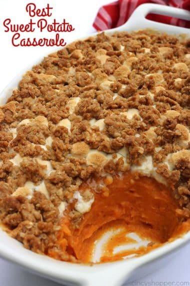 The Best Sweet Potato Casserole