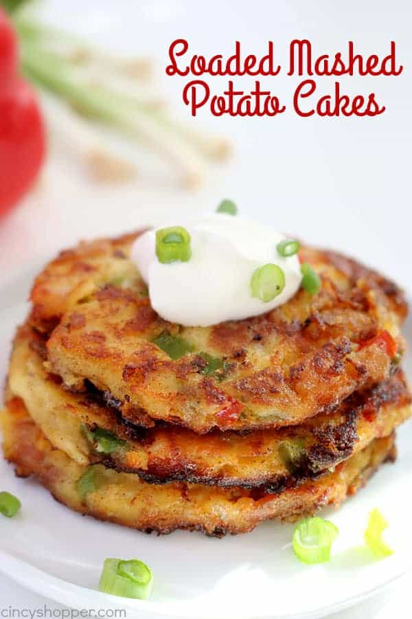 Loaded mashed potato cakes cincyshopper loaded mashed potato cakes ccuart Choice Image
