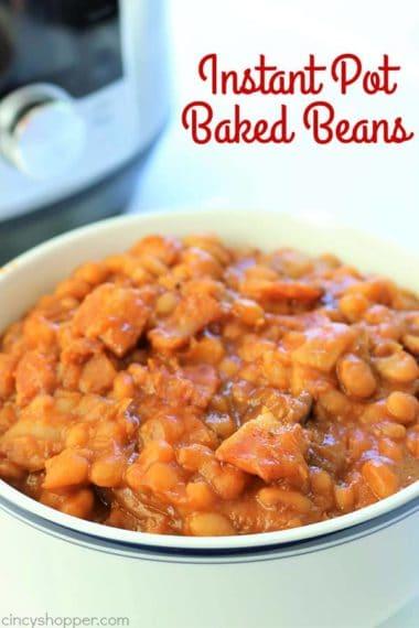 Instant Pot (No Soak) Baked Beans