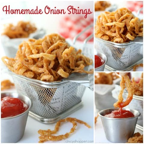 Homemade Onion Strings (straws) - super flavorful, crispy, and addicting!