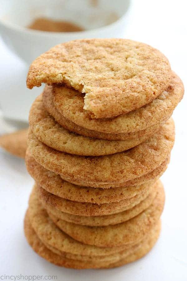 Soft Snickerdoodle Cookies Cincyshopper
