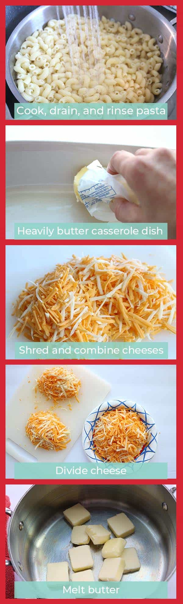 How to make creamy mac and cheese