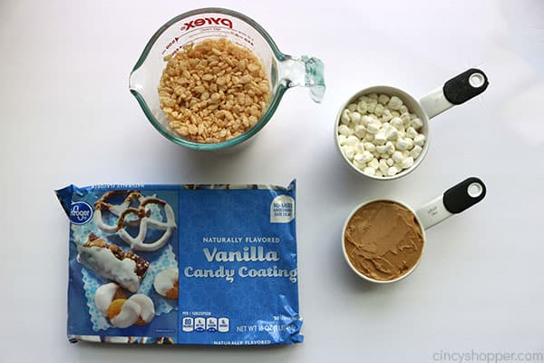 Ingredients to make Avalanche Cookies