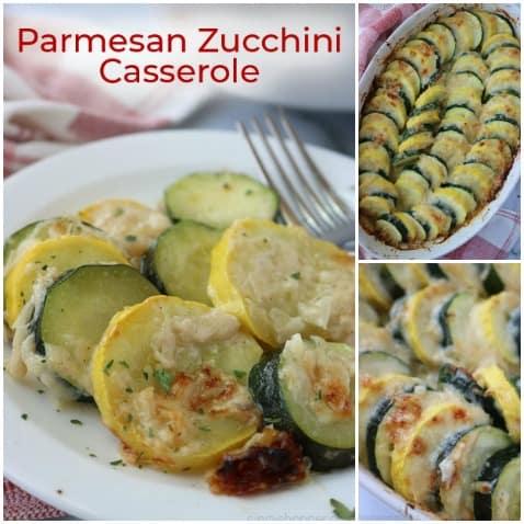 Easy Parmesan Zucchini Casserole