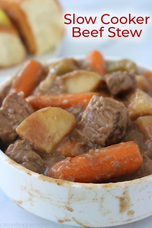 The Best Slow Cooker Beef Stew