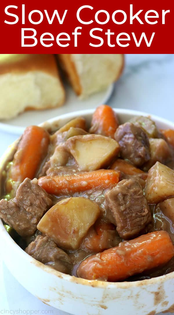 The Best Beef Stew ina bowl.