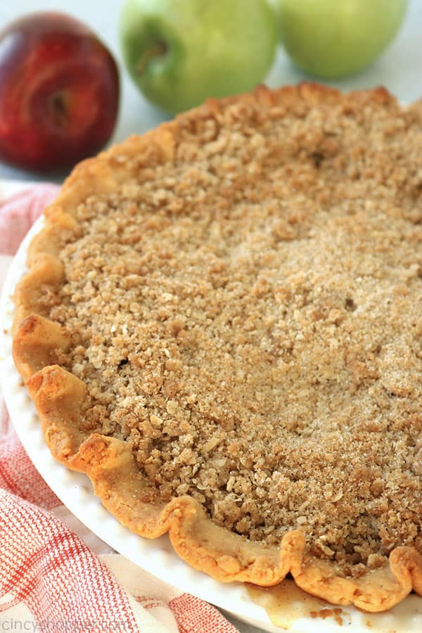 Dutch Apple Pie whole.