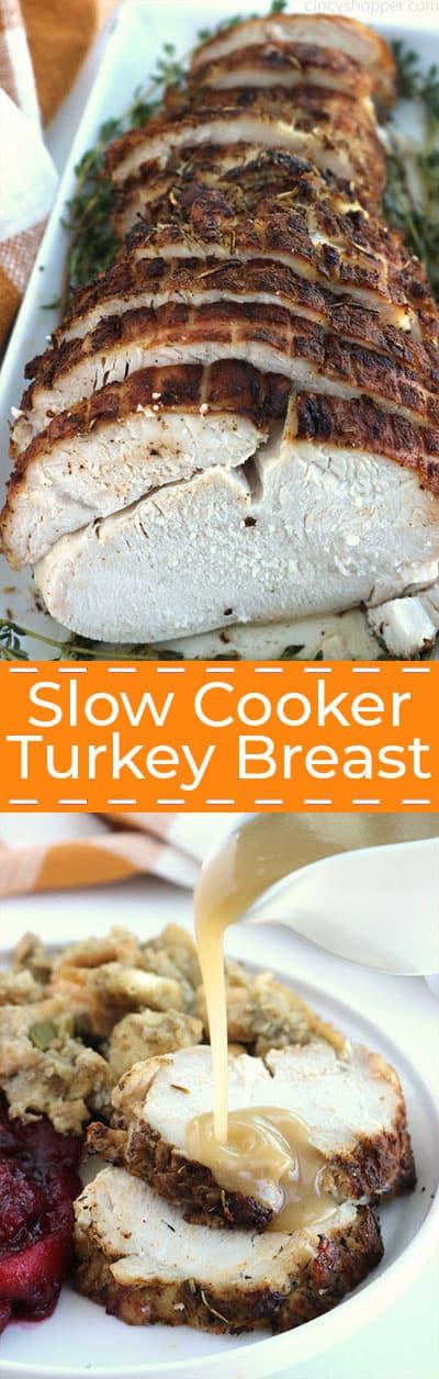 Easy Slow Cooker Turkey Breast
