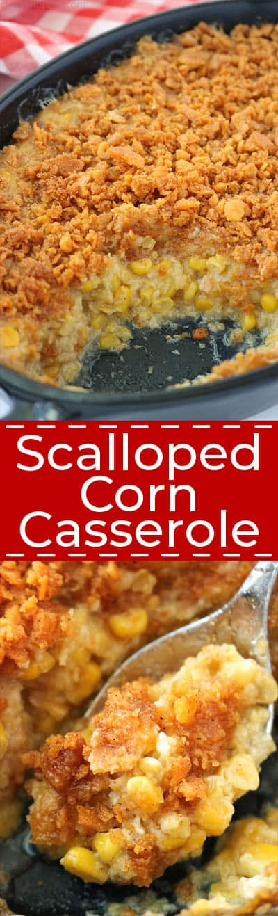 The Best Scalloped Corn Casserole