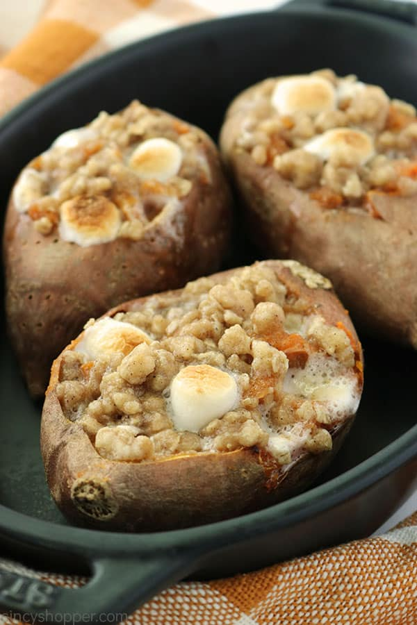 Simple Twice Baked Sweet Potatoes