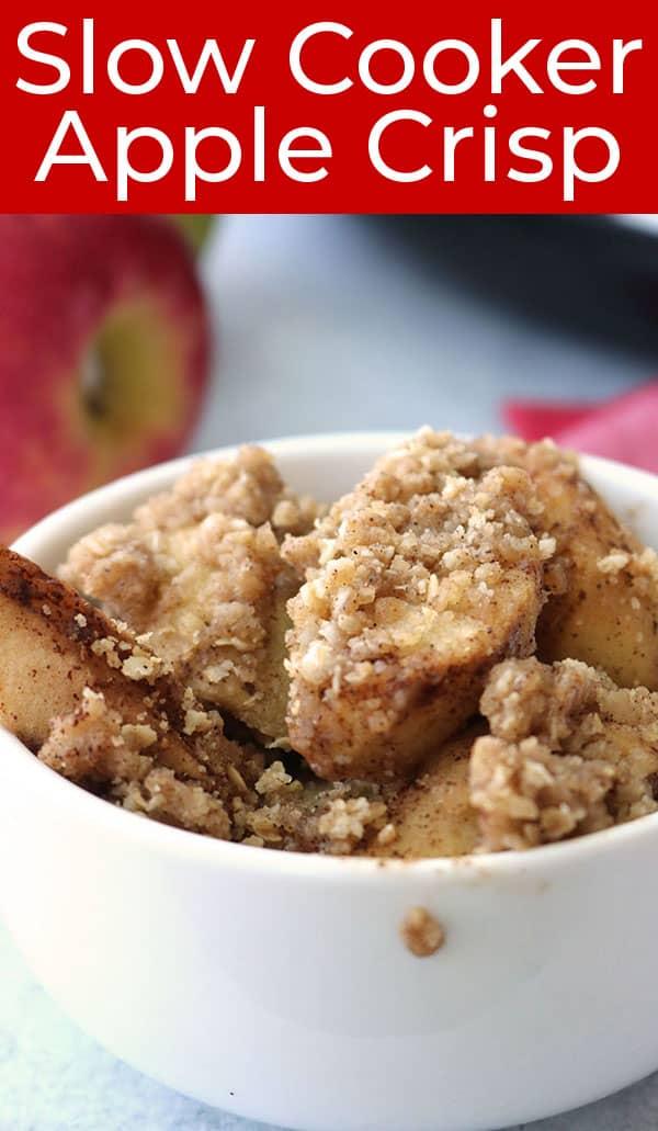 Easy Crock-Pot Apple Crisp recipe