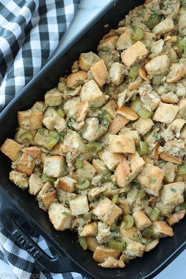 The Best Thanksgiving Stuffing.