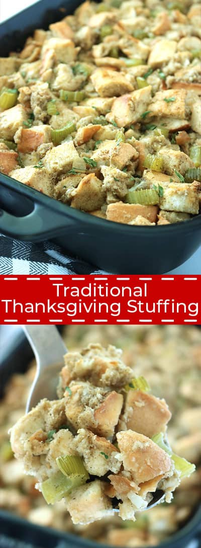 Traditional Thanksgiving Stuffing recipe