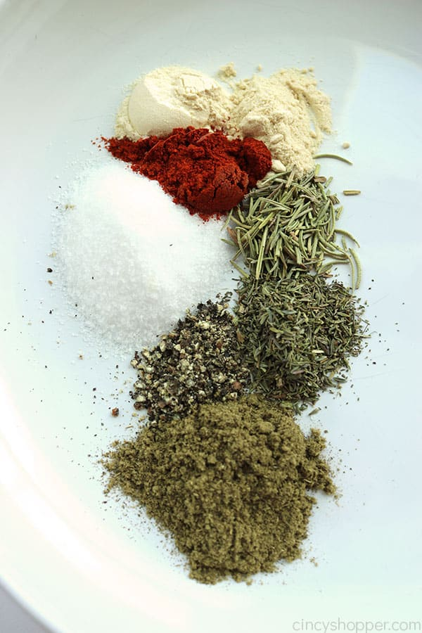 Spices for Thanksgiving Turkey Rub