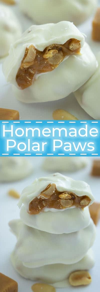 Homemade Polar Paws Candy