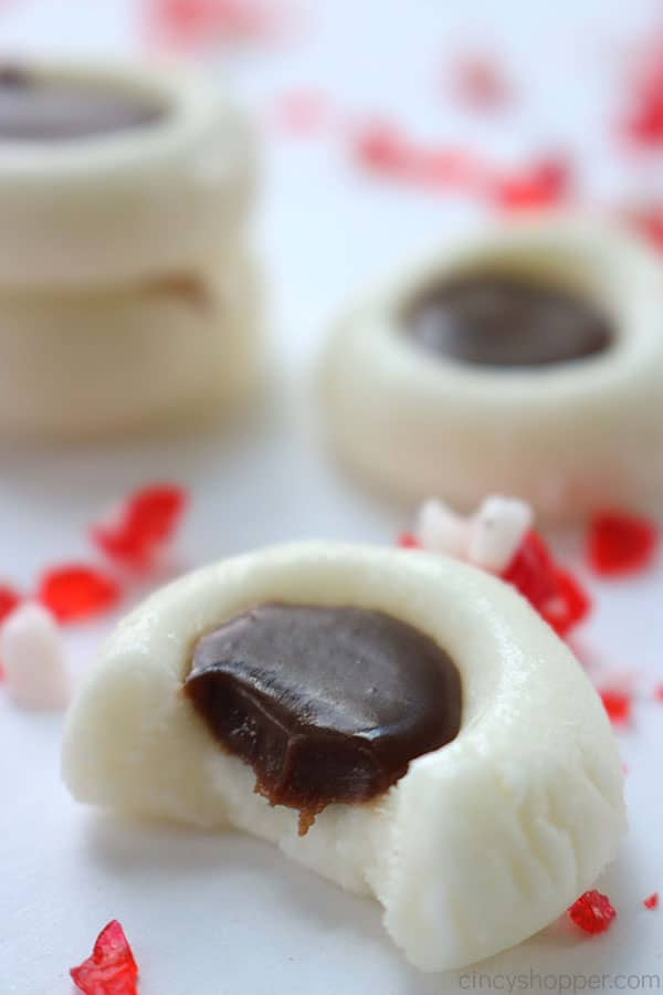 Peppermint Cream Cheese Candy