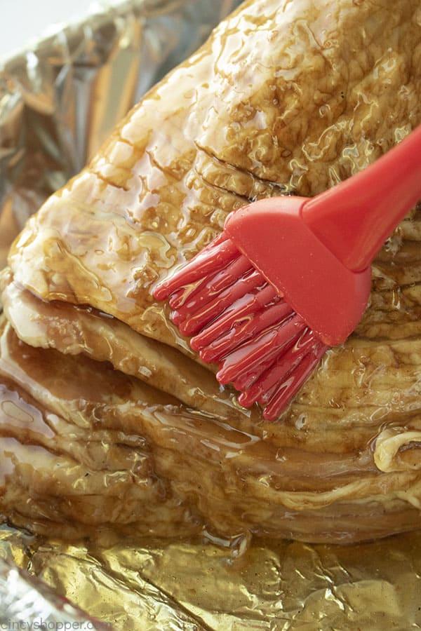 The best glaze for Honey Baked Ham at home.