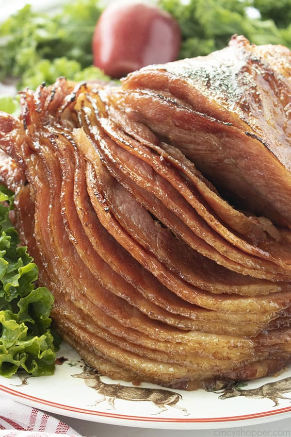 Honey Baked Ham made right at home in your oven.