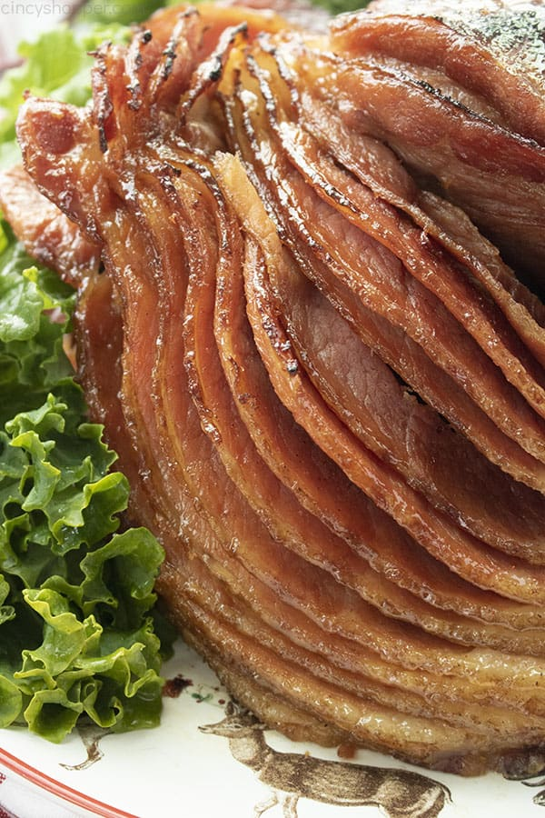 Homemade spiral Honey Baked Ham that's juicy every time!