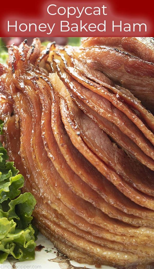 CopyCat recipe for Honey Baked Ham, it's so easy!