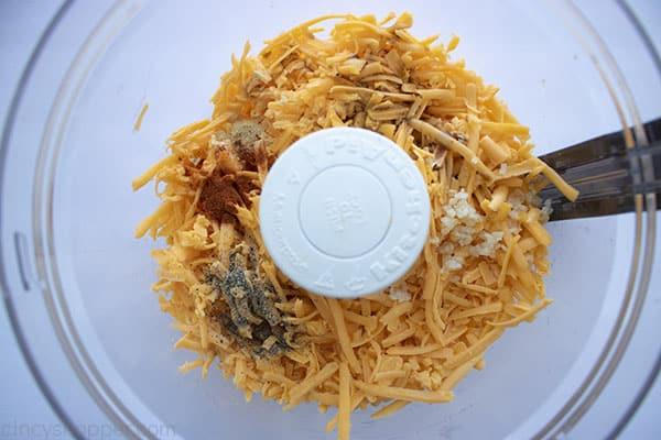 Beer Cheese Dip in a food processor