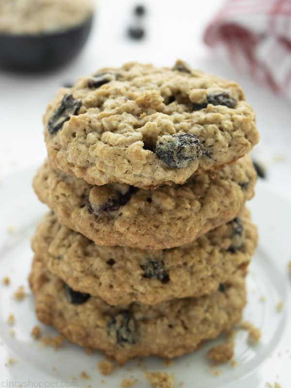The Best Oatmeal Raisin Cookies