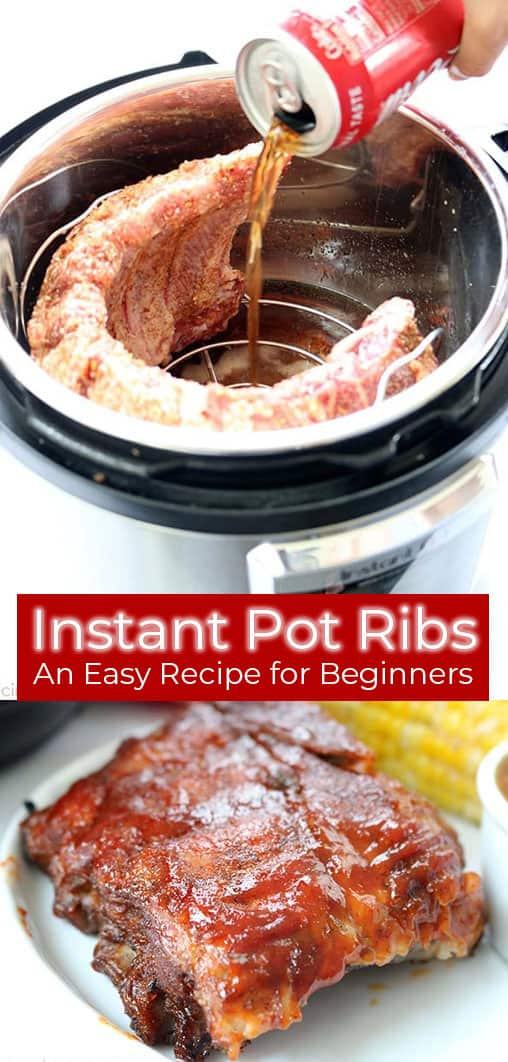 Instant Pot Ribs are easy!