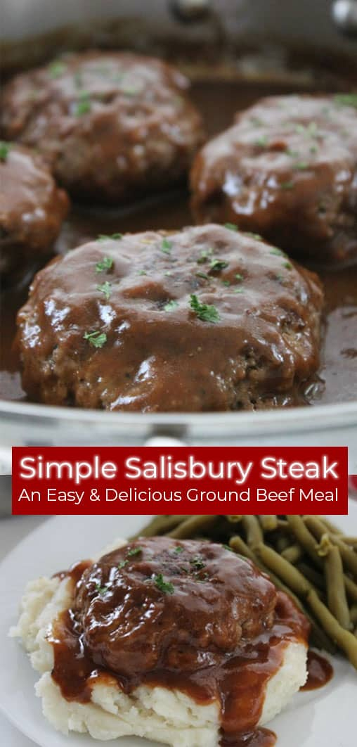 Easy Salisbury Steak recipe with gravy